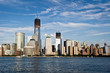 Downtown Manhattan et la Freedom tower -New York