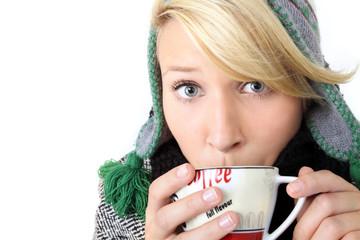 Kaffee im Winter