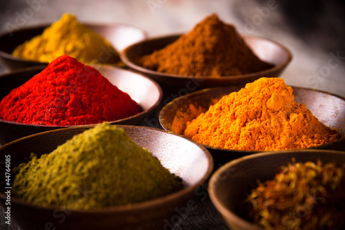 Assorted spices - 44764085