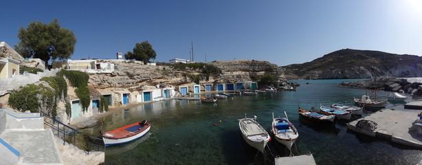 port à Milos