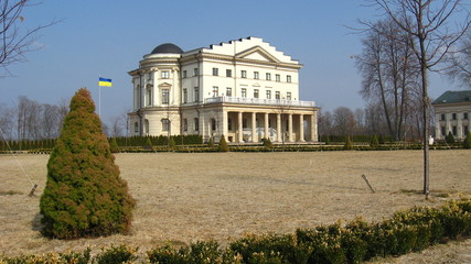Palace of count Rozumovsky in Baturin