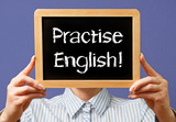 Fototapety Practise English !