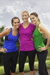 Smiling Healthy Fitness Women