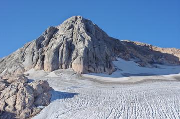 Mountain peak Fisht in the mountains near Sochi