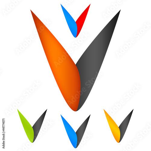 v company logo  Company Logo