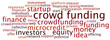 Tag Cloud Crowd Funding