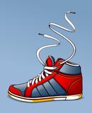 Fototapety Trendy sneaker
