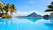 Bora Bora landscape - 44776026
