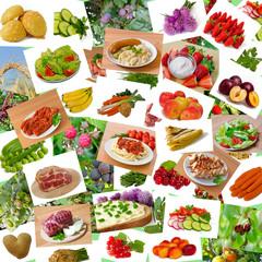"""Collage """"Lebensmittel"""""""