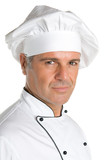 Professional chef smiling