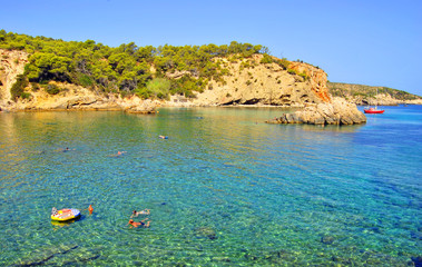 Cala Xarraca playa, Ibiza, Islas Baleares, Spain (Europe)