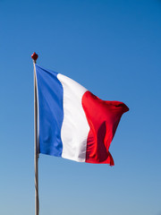 French Flag Pole