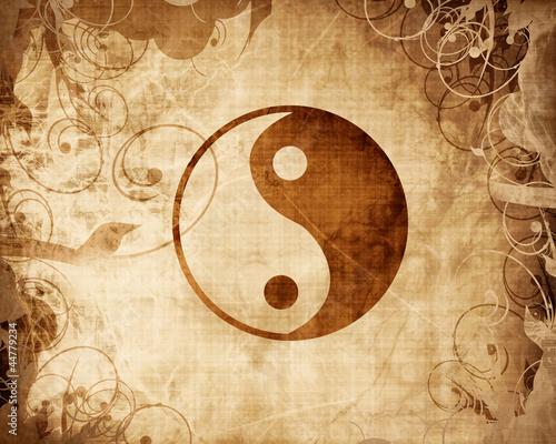 Fototapeta Yin Yang sign