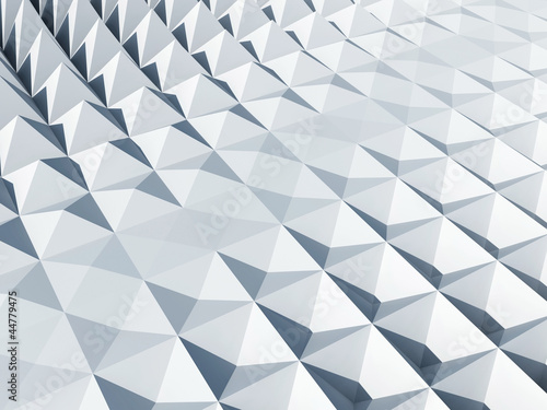 White square cellular pyramidal surface