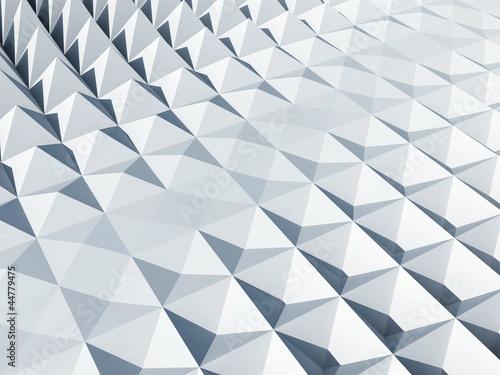 White square cellular pyramidal surface