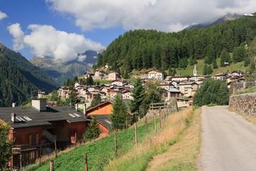 Pejo village, Italy