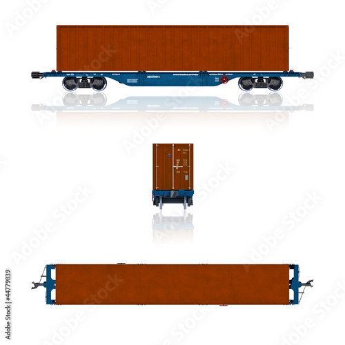 Modern container carriage projections