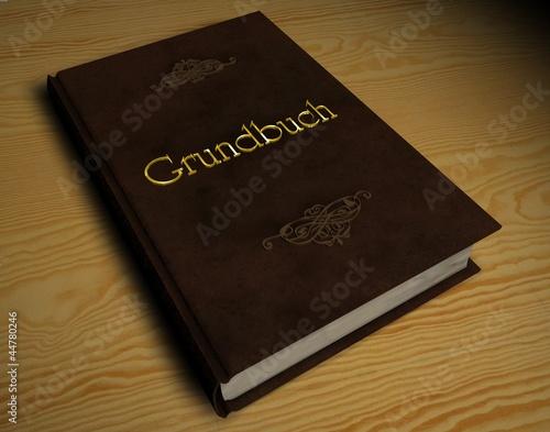 3d buch grundbuch von reimer pixelvario lizenzfreies foto 44780246 auf. Black Bedroom Furniture Sets. Home Design Ideas