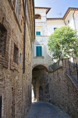 Foto op Plexiglas Havana Alleyway. San Gemini. Umbria. Italy.
