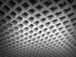 White square cellular bent lattice