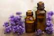 essential oil and lavender flowers - 44783015