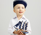 Little boy sailor