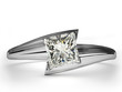Wedding Ring gift isolated.