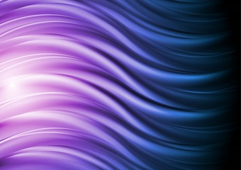 Colourful waves. Vector backdrop