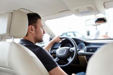 The man at the wheel