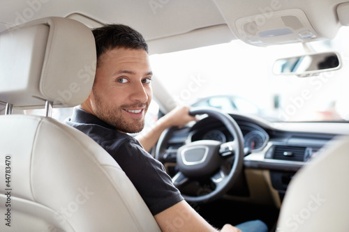 Leinwanddruck Bild Driver