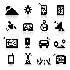GPS icons