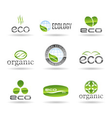 Ecology icon set. Eco-icons. Vol 6.