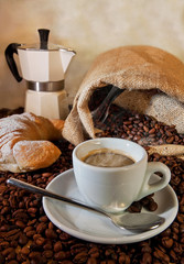 Il piacere del caffè fatto in casa....Tradizione Italiana
