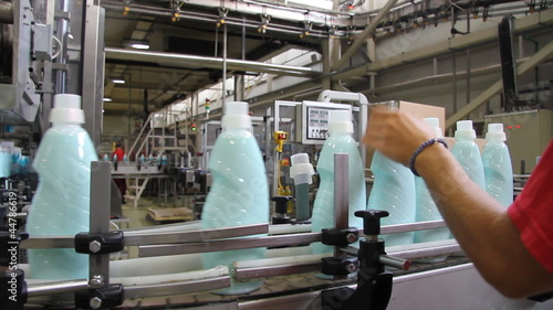 Production of Liquid Detergent
