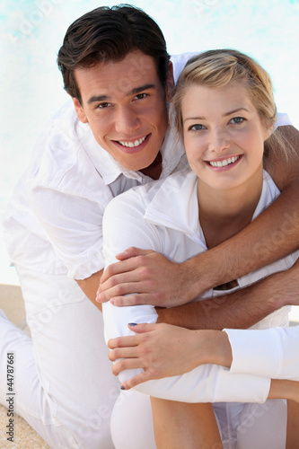 Portrait of a young, attractive couple