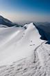 Cresta del Monte Castore (Alpi, Valle d'Aosta, Italia)