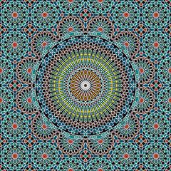 Razil Moorish Seamless Pattern