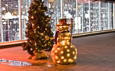 Christmas decorations, Moscow