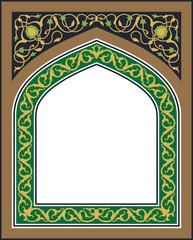 Tanger Floral Frame