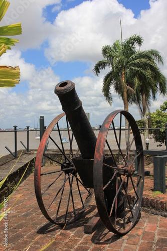 Surinam - Paramaribo - Fort Zeelandia