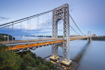 George Washington Bridge, New York.