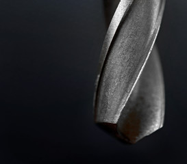 Drill bit close up