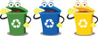 Funny Recycling Boxes - 44792616
