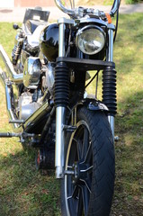 Motorrad Chopper