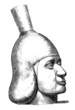 Precolombian Pottery Head