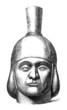 Precolombian Head - Pottery