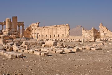 Palmyra Tempelhof des Baaltempel