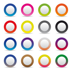 Color collection picto glossy