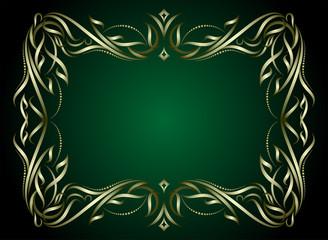 Elegant green background