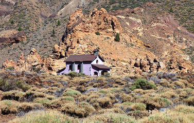 Shrine of Virgen de Las Nieves in Teide National Park